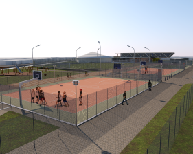 Site Development - street sports